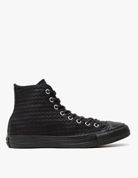 Converse Chuck Taylor In Craft Leather Black
