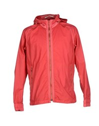 Dondup Coats And Jackets Jackets Men Coral