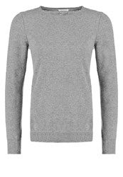 United Colors Of Benetton Slim Fit Jumper Dark Grey Melange