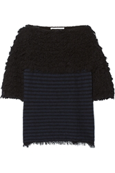 Thakoon Textured Cotton Blend Sweater