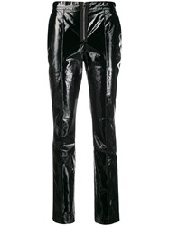 Yang Li Polished Effect Skinny Trousers 60