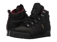 Adidas Jake Boot 2.0 Core Black Maroon Dark Grey Heather Solid Grey Men's Lace Up Boots
