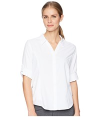 Royal Robbins Bug Barrier Expedition Long Sleeve Top White Long Sleeve Button Up