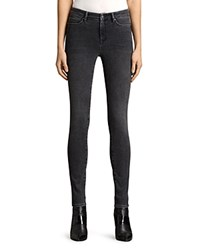 Allsaints Grace Jeans In Washed Black