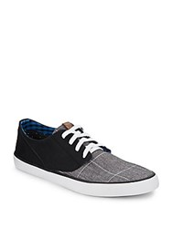 Ben Sherman Ron Canvas Sneakers Window Pane