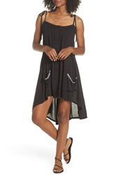 Muche Et Muchette Olivia Cover Up Dress Black Silver