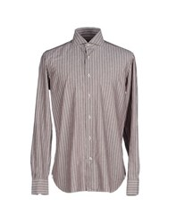 Borsa Shirts Shirts Men Light Grey