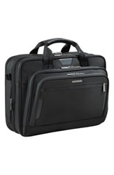 Briggs And Riley 'Medium' Expandable Ballistic Nylon Briefcase