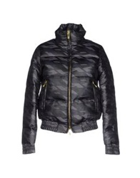 Dirk Bikkembergs Down Jackets Black