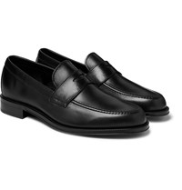 Paul Smith Lowry Leather Penny Loafers Black