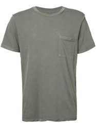 Nsf Pocket T Shirt Men Cotton Xl Green