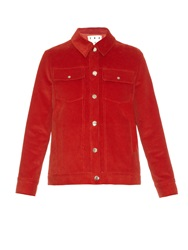 Trademark Point Collar Corduroy Jacket