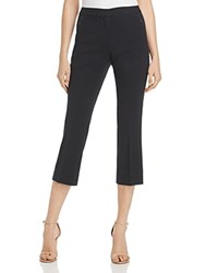 T Tahari Harper Cropped Pants Black