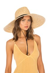 L Space Panama Lifeguard Hat Tan