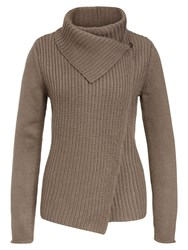Marc O'polo Knitted Sweater Brown