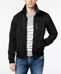 Superdry Men's Moody Night Lightweight Flight Jacket Black