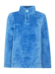 Tigi Fleece Jumper Azure