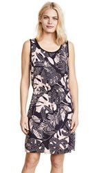 Cooper And Ella Hannah Braided Dress Dotted Palm Leaf