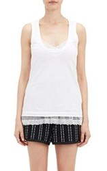 Sacai Luck Layered Tank White Size 1 2 Us