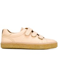 Weber Hodel Feder Brogue Detail Sneakers Calf Leather Leather Rubber Nude Neutrals