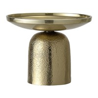 Bloomingville Round Aluminum Candle Holder Gold