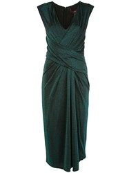 Sies Marjan Metallic Wrap Dress 60