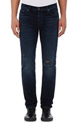 Baldwin Destroyed Skinny Jeans Black