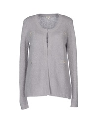 Hoss Intropia Cardigans Light Grey