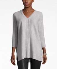 Charter Club Cashmere V Neck Sweater Only At Macy's Heather Crystal