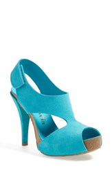 Women's Pedro Garcia 'Patty' Slingback Sandal Blue Green