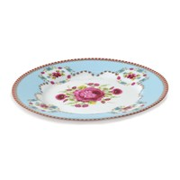 Pip Studio Floral Side Plate Blue