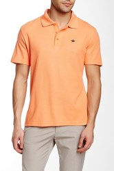 English Laundry Pique Polo Orange