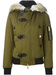 Dsquared2 Padded Jacket Green