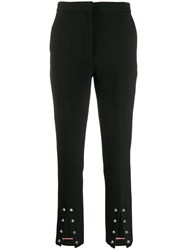 Vivetta Embellished Cropped Trousers Black