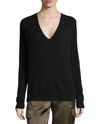Theory Adrianna R. Cashmere Sweater Black