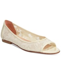 French Sole Fs Ny Noir Flats Women's Shoes Off White