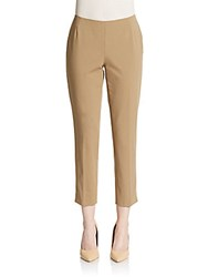 Lafayette 148 New York Stanton Cropped Pants Chai