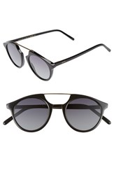 Spektre Women's 'Bel Air Flat' 47Mm Sunglasses Black Smoke Black Smoke