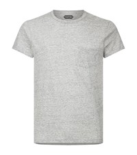 Tom Ford Jersey T Shirt Male Grey