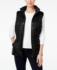 Styleandco. Style Co. Quilted Puffer Vest Only At Macy's Deep Black