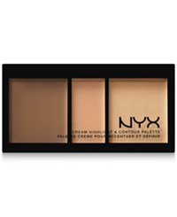 Nyx Cream Highlight And Contour Palette Medium