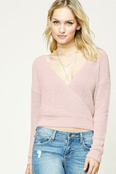 Forever 21 Contemporary Surplice Sweater
