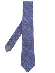 Brunello Cucinelli Plain Tie Blue