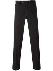 Canali Slim Fit Trousers Brown