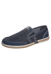 Tom Tailor Slipons Navy Dark Blue