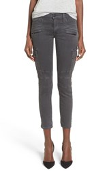Hudson Jeans Women's 'Colby' Ankle Skinny Cargo Pants Smoky Dark Grey