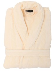 Carrara Gin Cotton Bathrobe Beige