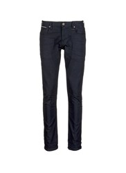 Scotch And Soda 'Lot 22 Tye' Slim Fit Selvedge Jeans Black