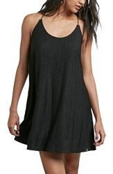 Volcom Racerback Swing Dress Black