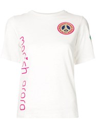 Manish Arora Embroidered Neymar Jr T Shirt White